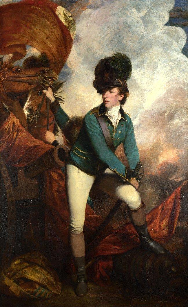 Banastre Tarleton by Sir Joshua Reynolds