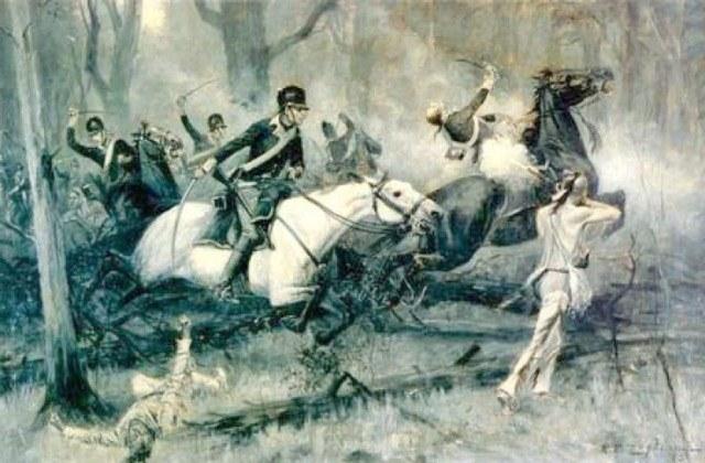 The Battle of Fallen Timbers by RF Zogbaum