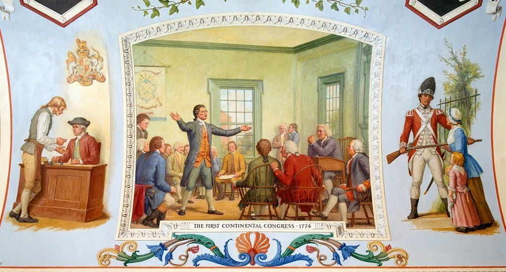 First Continental Congress by Allyn Cox