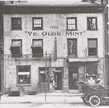 First United States Mint building