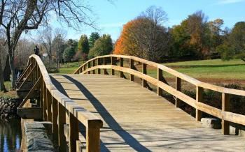 The Olde North Bridge, Concord, Massachusetts