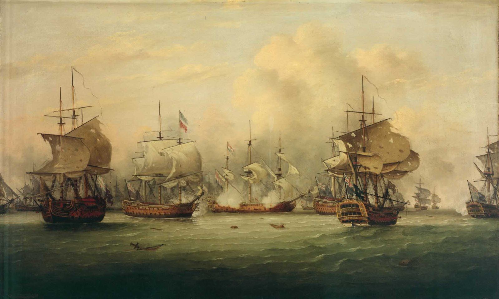 The Battle of the Dogger Bank by Thomas Luny