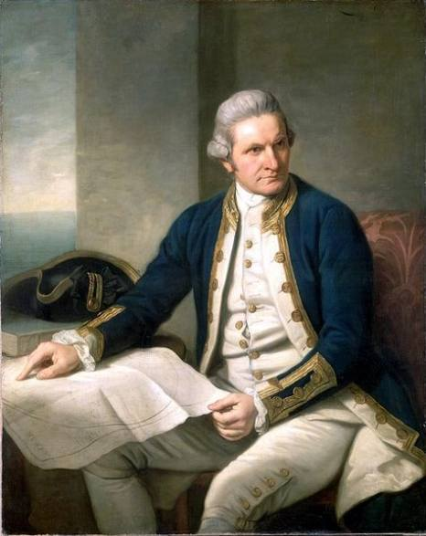 Captain James Cook by Nathaniel Dance-Holland