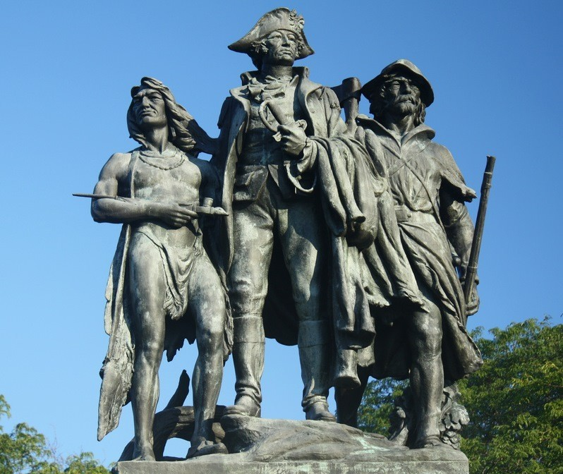 Battle of Fallen Timbers monument, Maumee, Ohio
