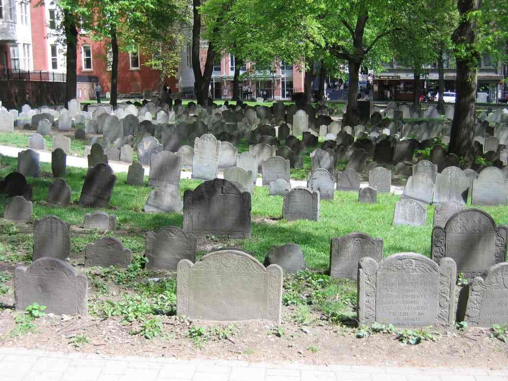 Granary Burial Ground, Boston