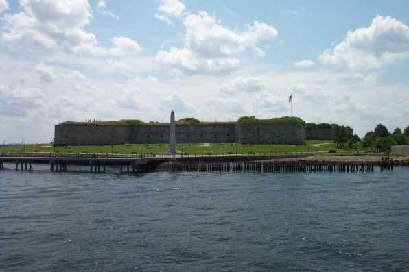 Fort Independence on Castle Island
