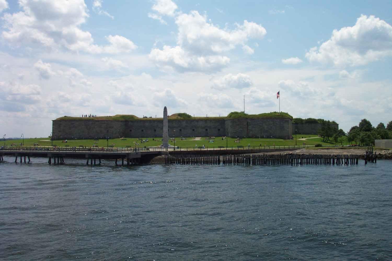 Fort Independence on Castle Island