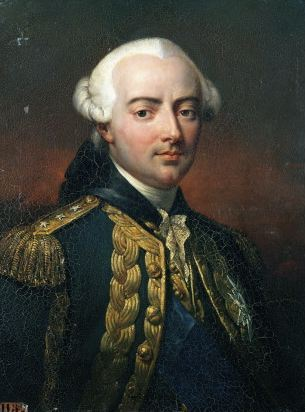 Admiral Charles Hector, Count D'Estaing