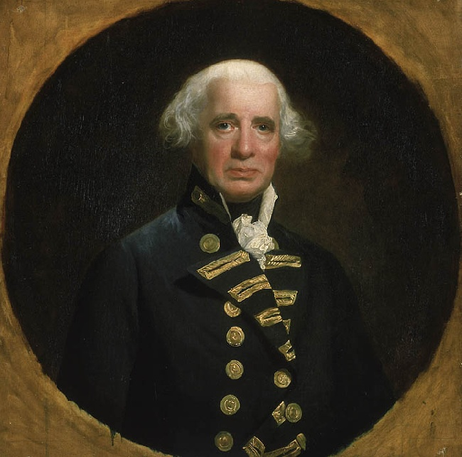 Admiral Richard Howe