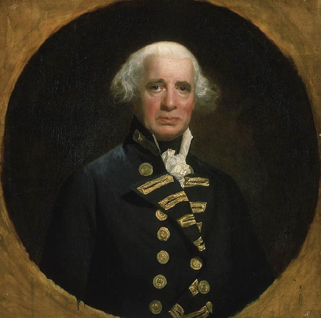 Admiral Richard Howe