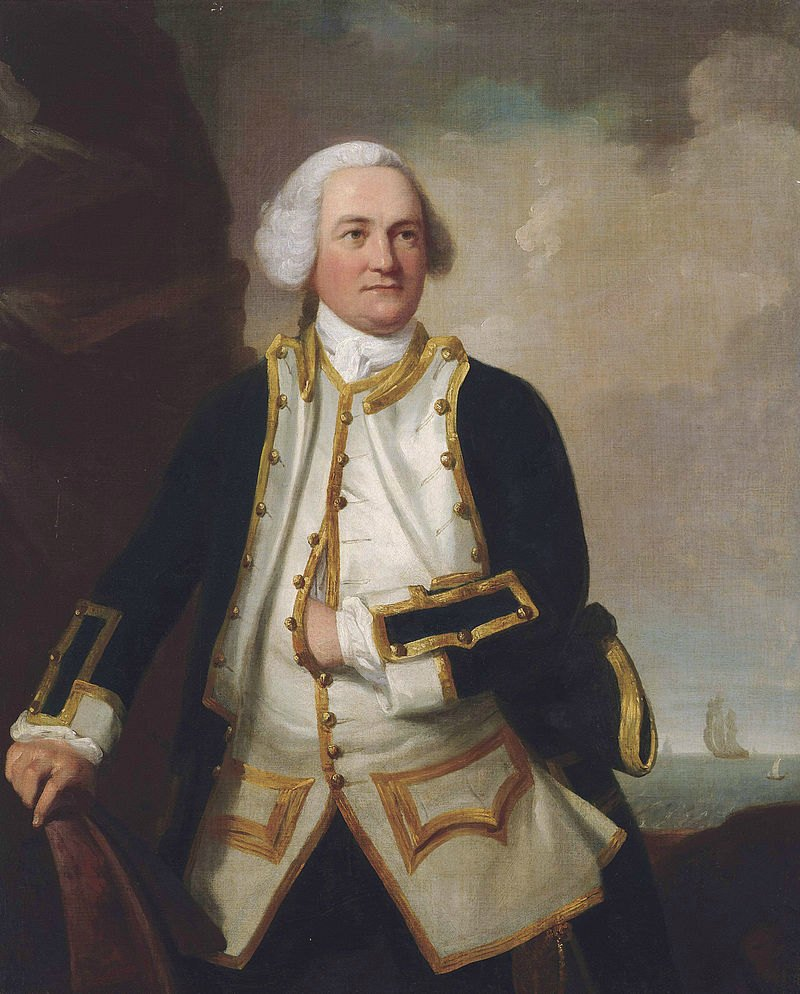 Admiral Samuel Graves by James Northcote