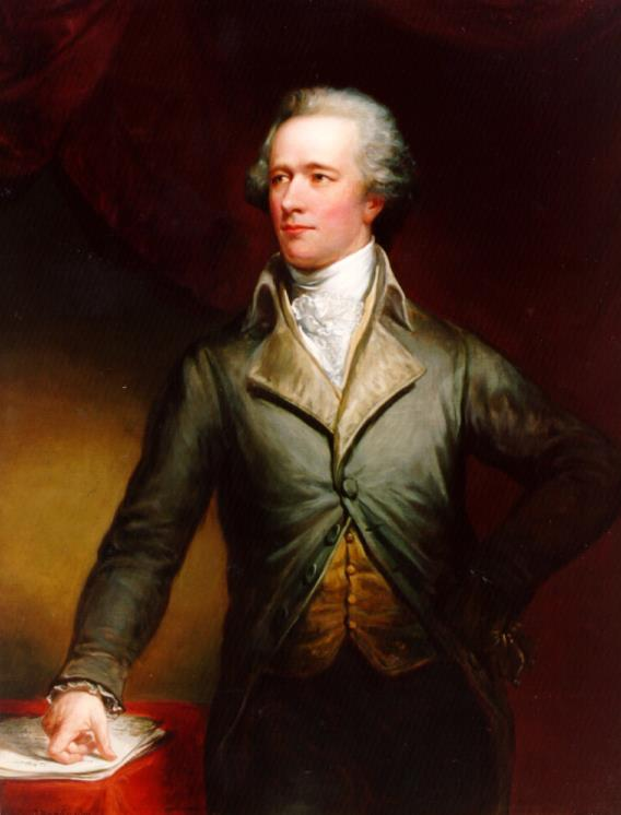 Alexander Hamilton by Daniel Huntington
