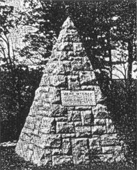 D.A.R McCrea Monument