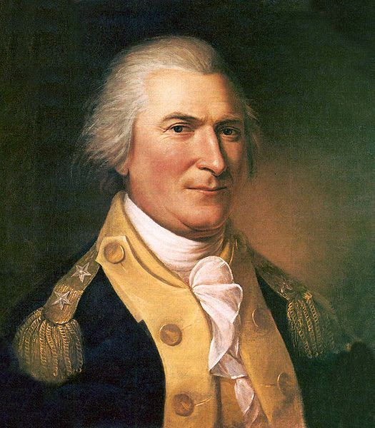 Major General Arthur St. Clair by Charles Willson Peale