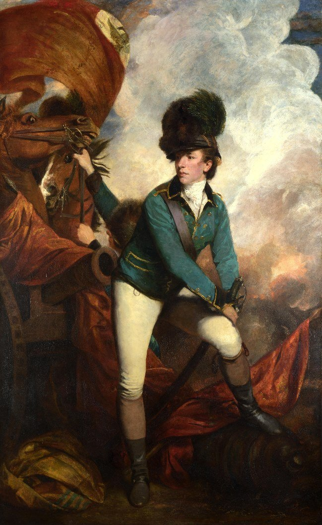 Banastre Tarleton by Sir Joshua Reynolds