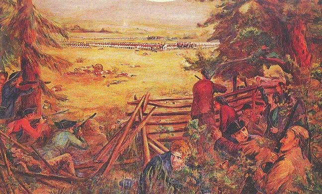 The Battle of Alamance