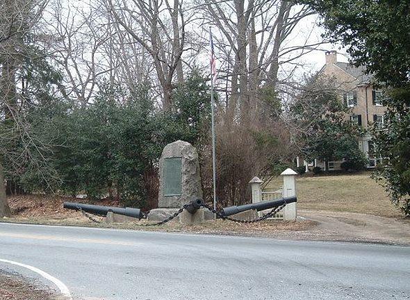 Battle of Cooch's Bridge Memorial, Newark, Delaware