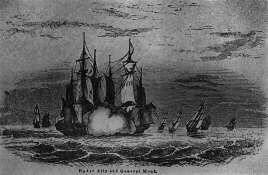 Battle of Delaware Bay, April 8, 1782