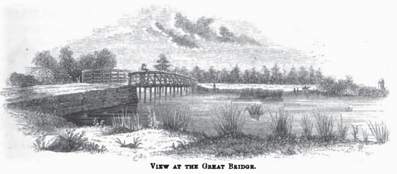 View at the Great Bridge