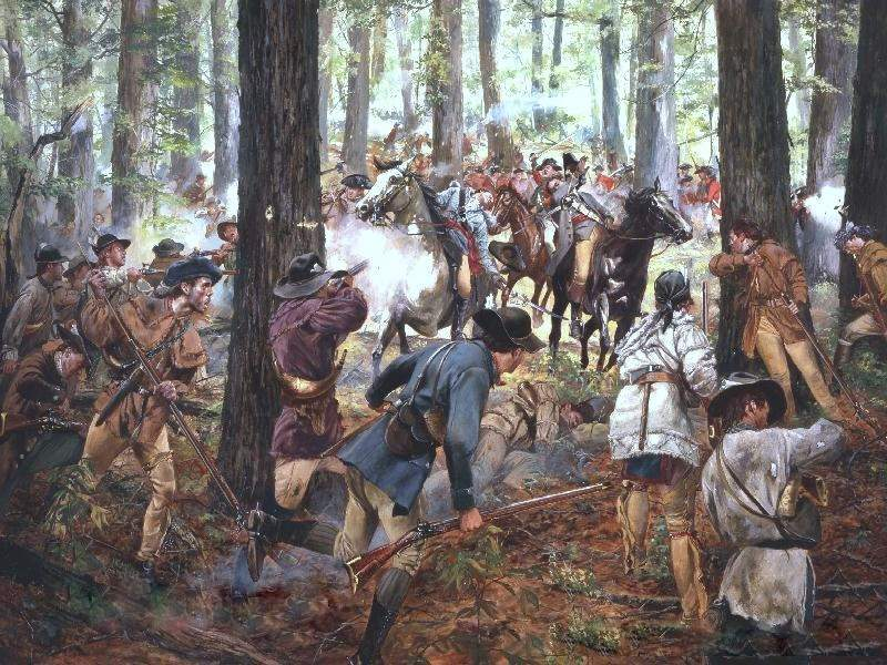 The Battle of Kings Mountain by Don Troiani