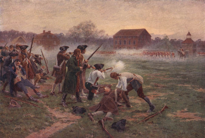 The Battle of Lexington by William Barnes Wollen
