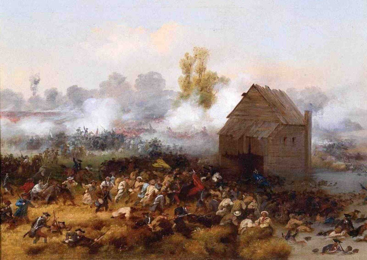 Battle of Long Island by Alonzo Chappel