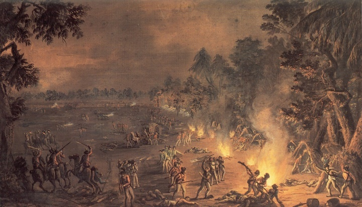 The Battle of Paoli by Xavier della Gatta