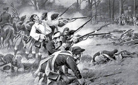 The Battle of Pell's Point