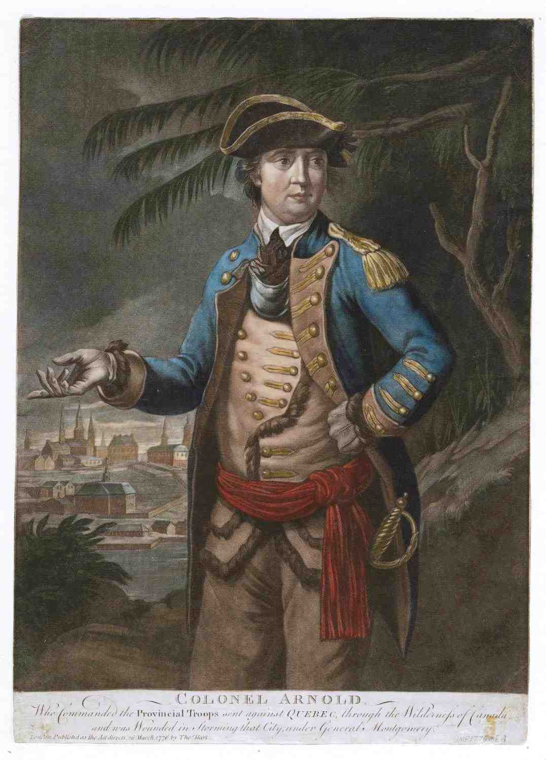 Benedict Arnold by Thomas Hart