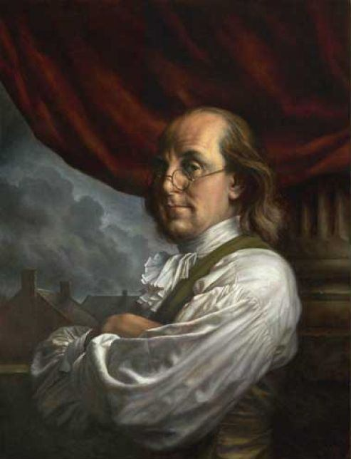 Benjamin Franklin by Michael Deas