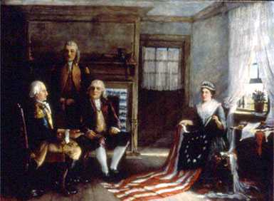 Birth of Our Nation's Flag by Charles Weisberger