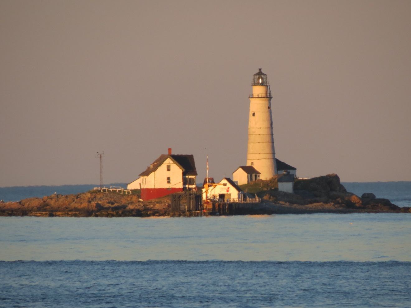 Boston Light as it looks today