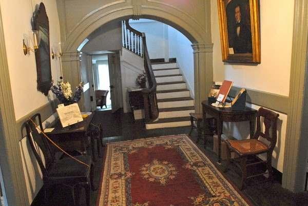 Burrowes Mansion Foyer