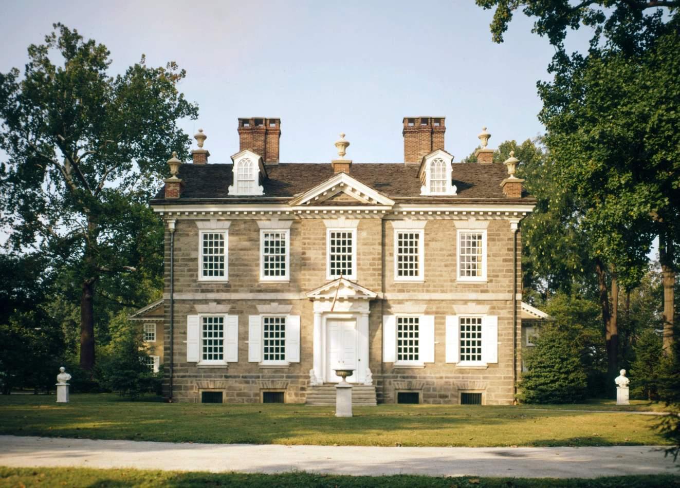 Cliveden, home of Benjamin Chew, Philadelphia, Pennsylvania