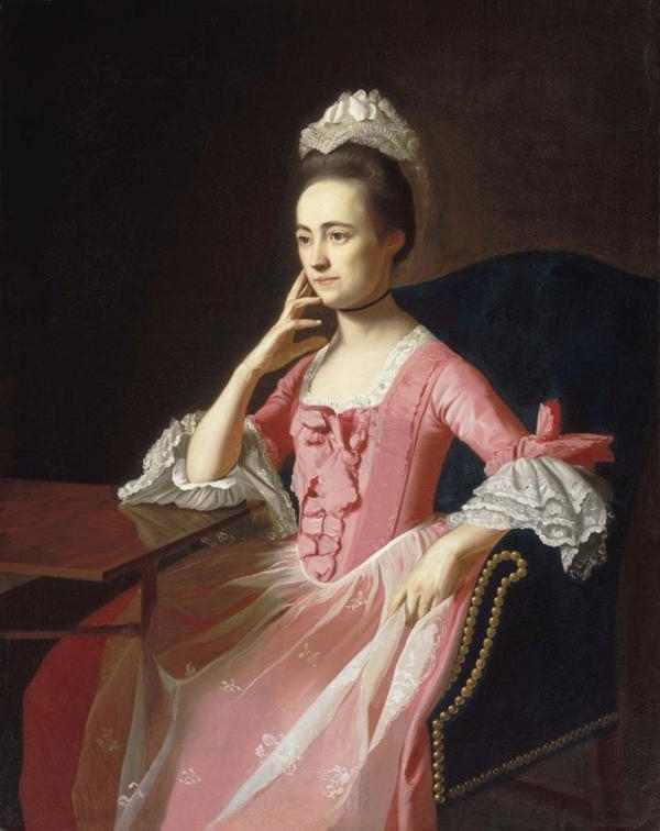 Dorothy Quincy Hancock by John Singleton Copley