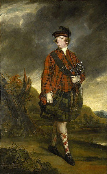 Governor John Murray, the Earl of Dunmore by Joshua Reynolds