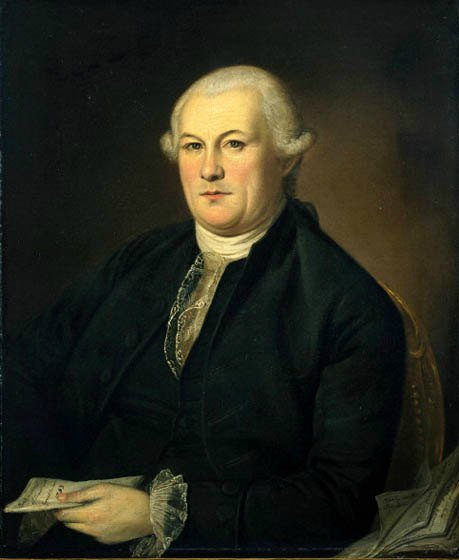 Elias Boudinot by Charles Willson Peale