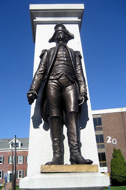 Brigadier General Enoch Poor statue, Hackensack, New Jersey