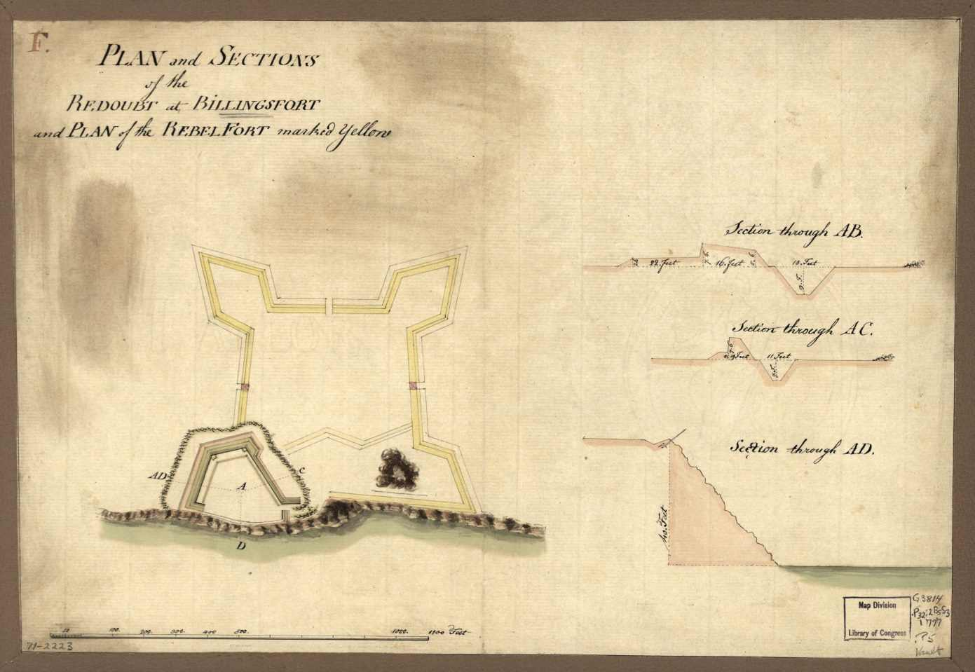 Plan of Fort Billingsport
