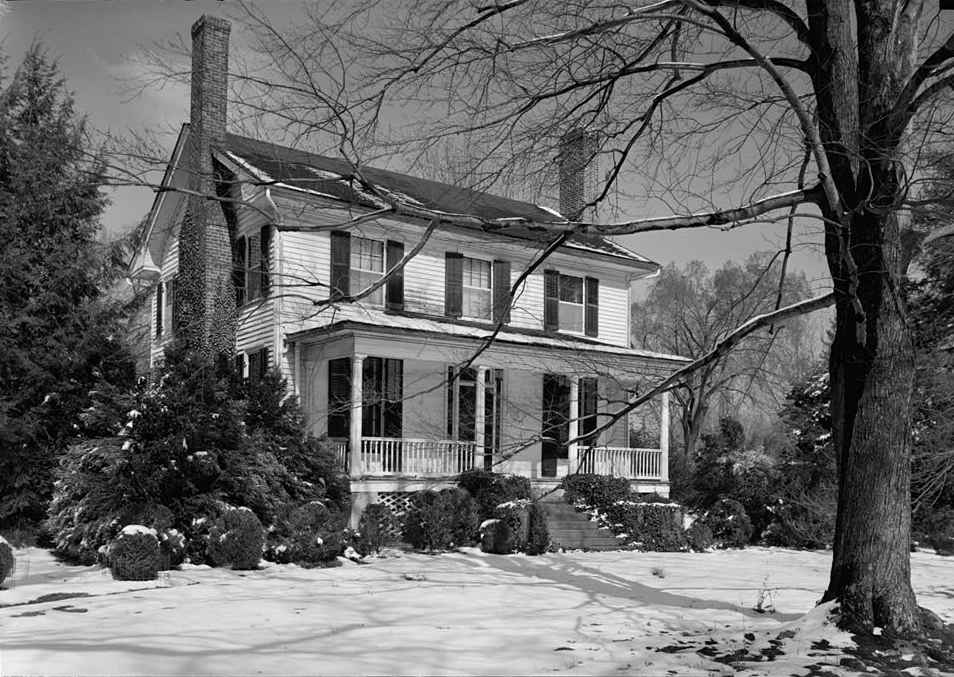 Still standing Francis Nash - William Hooper house Hillsborough, North Carolina