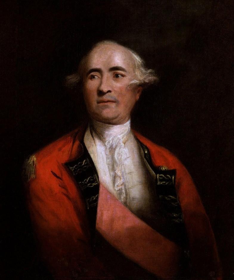 Sir Frederick Haldimand by Joshua Reynolds