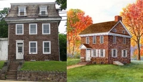Frederick Muhlenberg House, Trappe, Pennsylvania