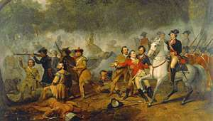 George Washington as Captain in the French and Indian War by Junius Brutus