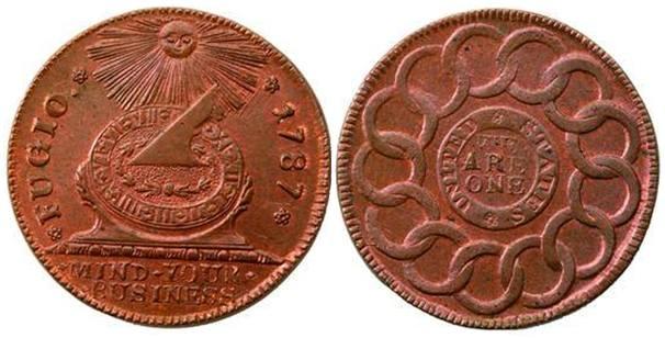 Benjamin Franklin's Fugio Cent