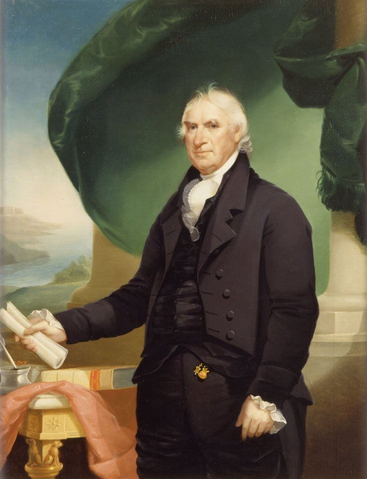 Governor, General and Vice-President George Clinton by Ezra Ames