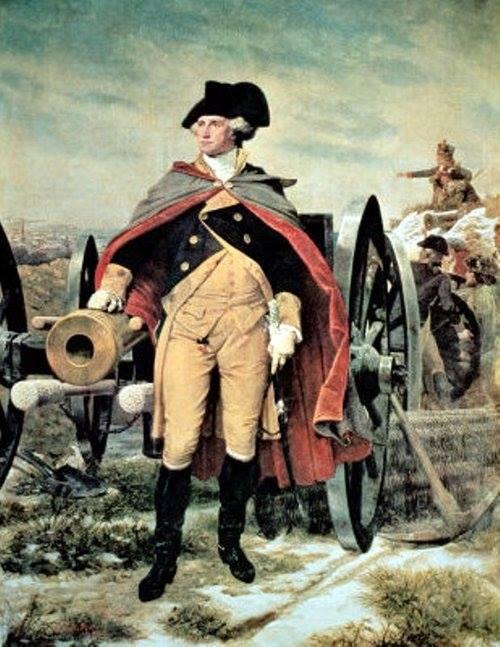 George Washington at Dorchester Heights by Emanuel Gottlieb Leutze