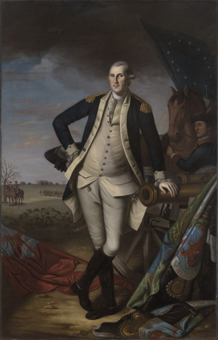 George Washington at the Battle of Princeton by Charles Willson Peale