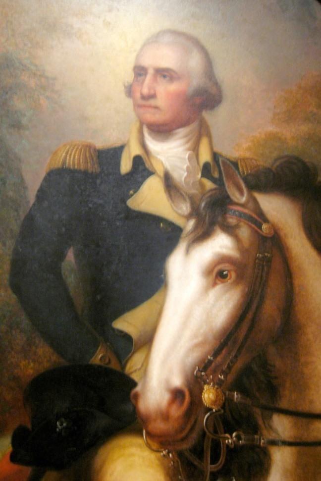 George Washington before Yorktown by Rembrandt Peale