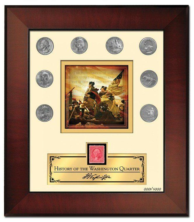 George Washington Quarter Collection Print