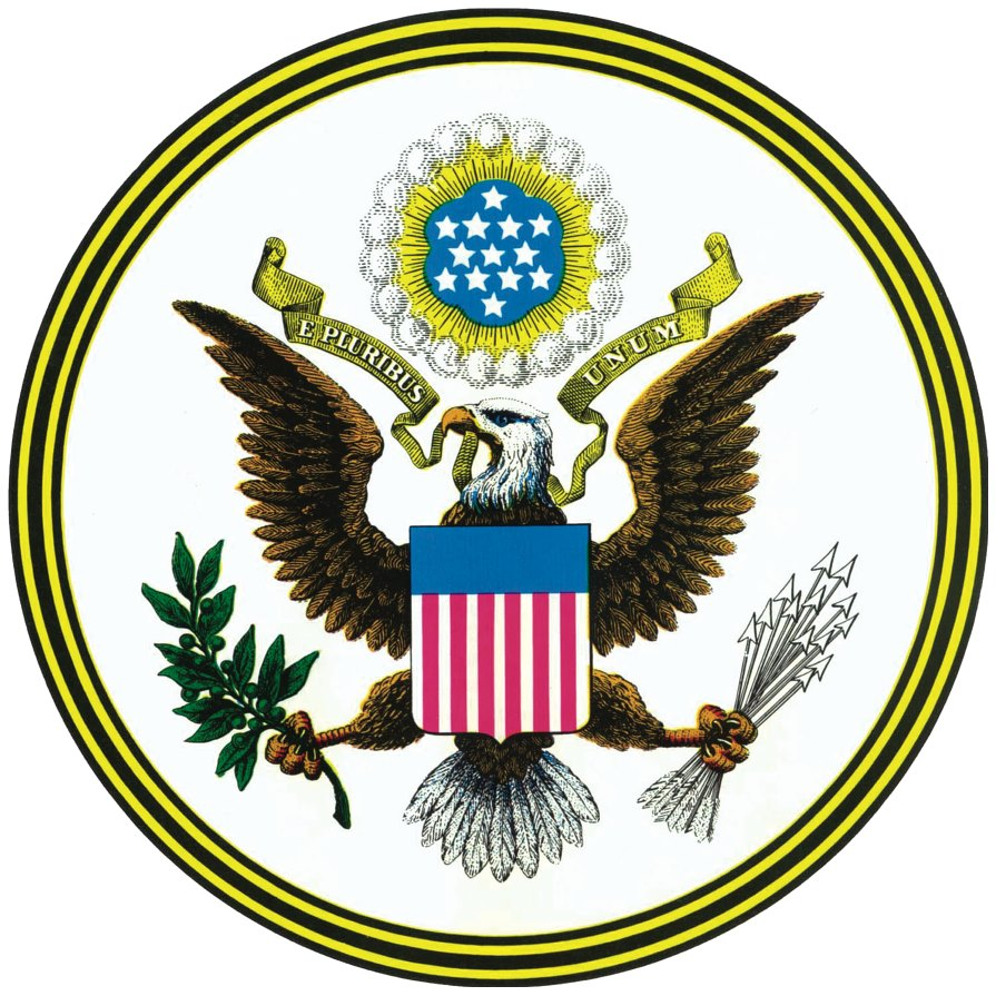 Great Seal of the United States obverse side